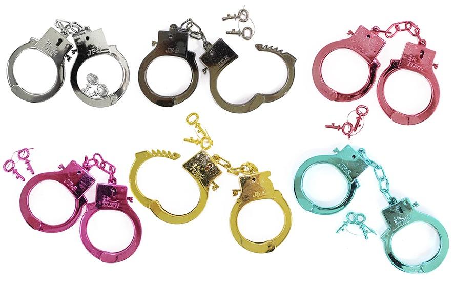 Handschellen 6 farbig sortiert - ca 27,5cm