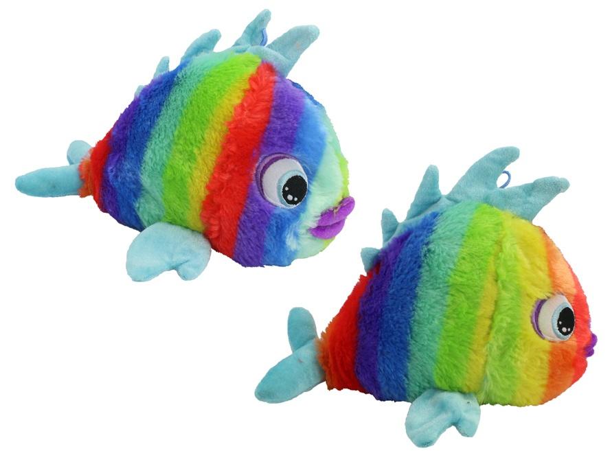Fisch in Regenbogenfarben - ca 30 cm