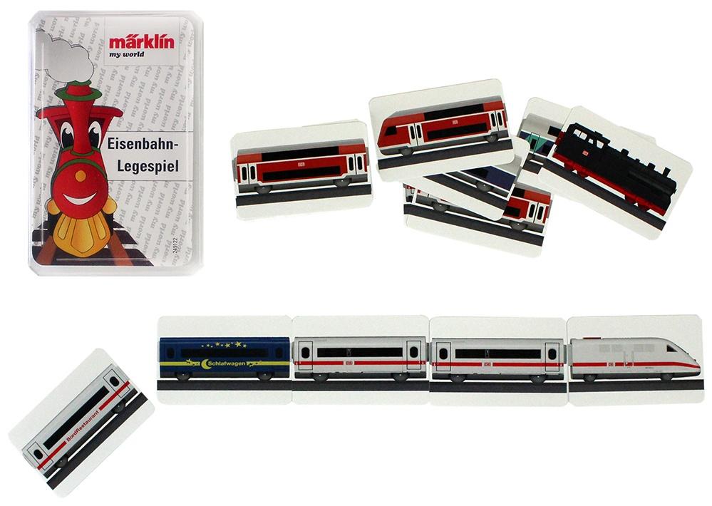 MÄRKLIN Eisenbahn Karten- Legespiel - ca 9,5x6,5x1,5cm