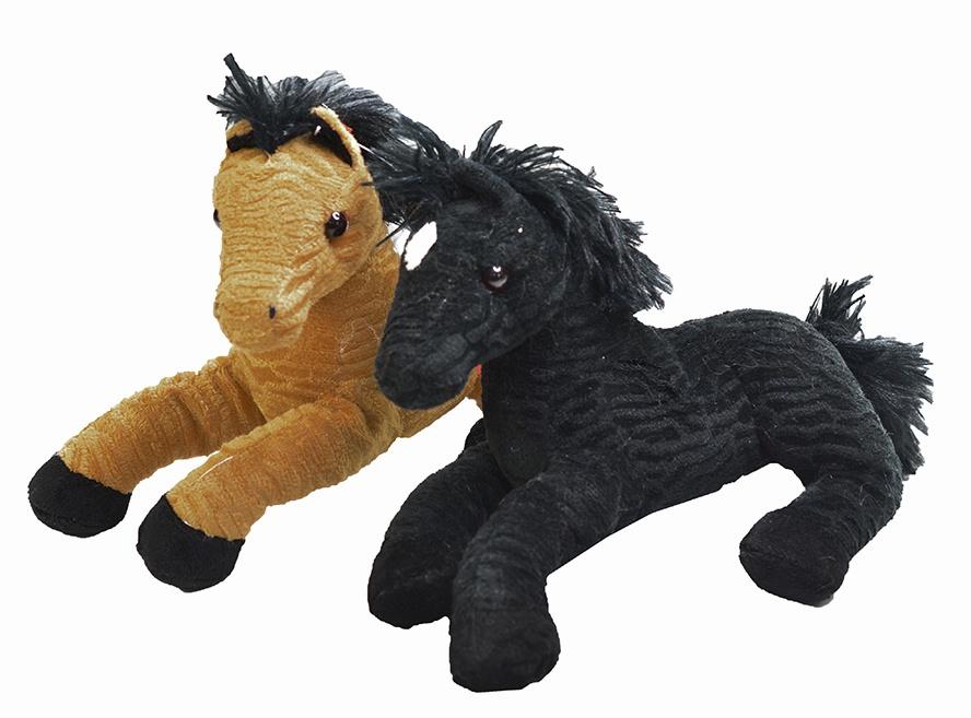 Pferd 2-farbig sortiert - liegend ca 24 cm