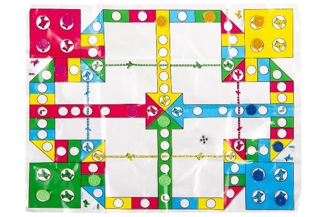Ludo Spiel ca 24x18,5cm