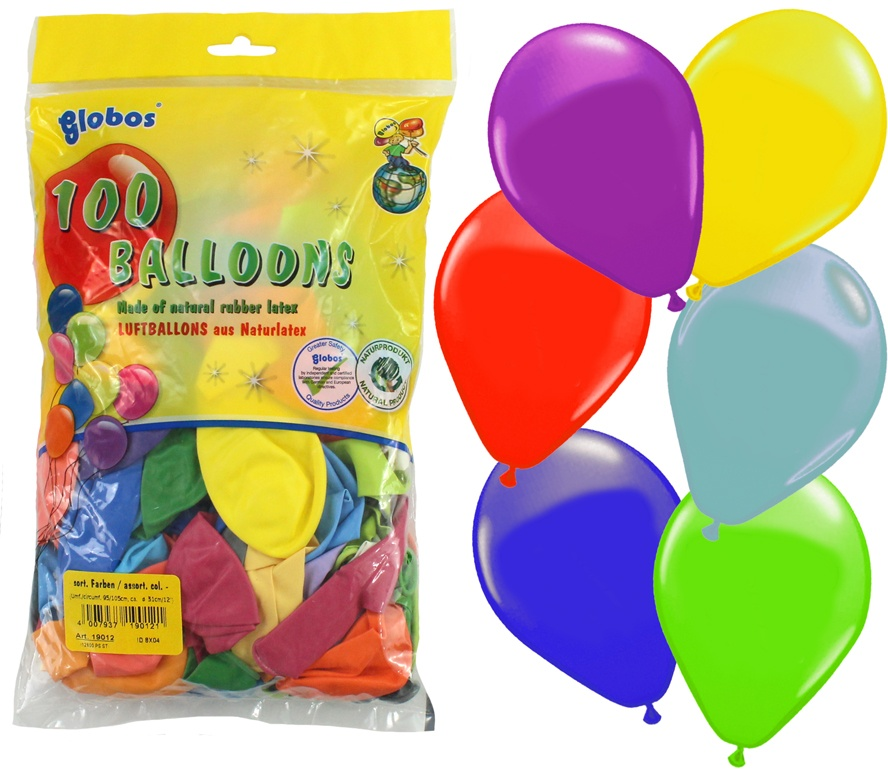 Ballons 90/100 farbig sortiert- 100 Stck
