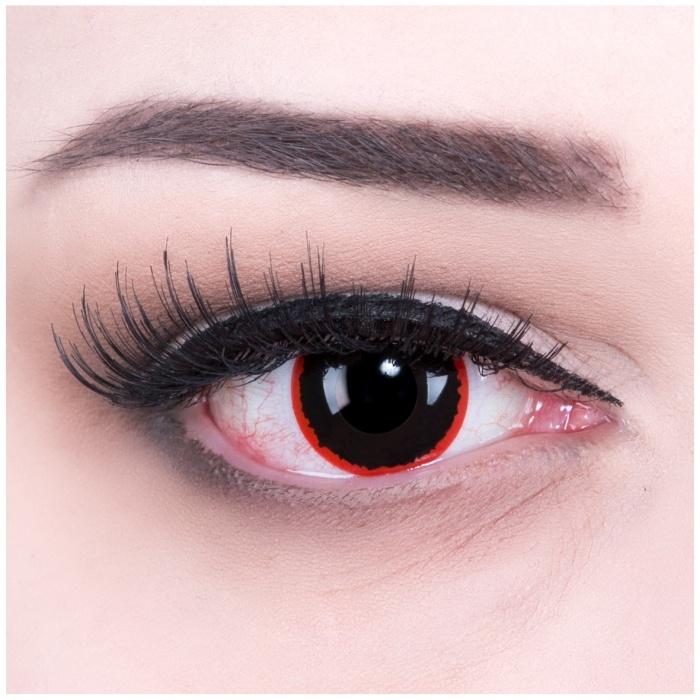 Paar Kontaktlinsen Hell Raiser