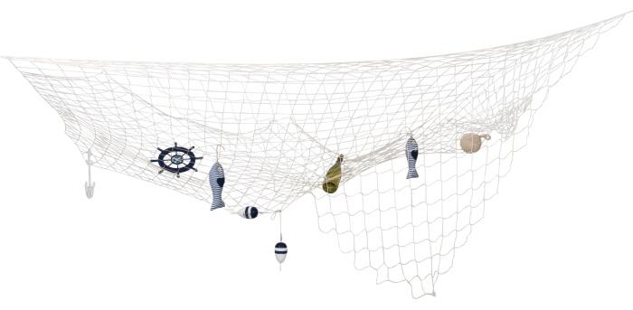 Deko-Fischernetz, ca. 400 x 200 cm