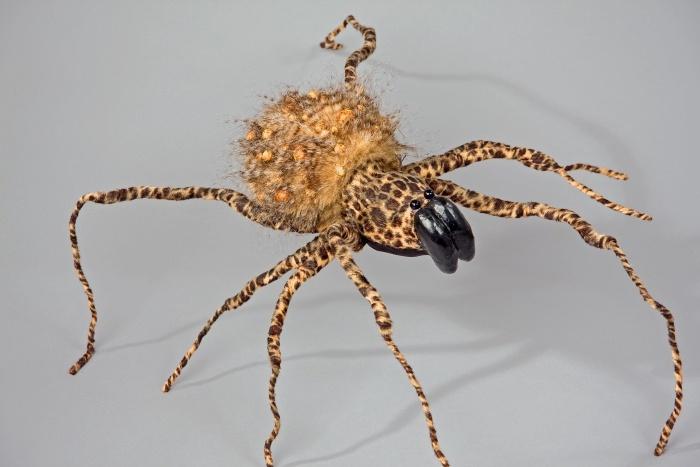 Riesenspinne braun, ca. 60 cm