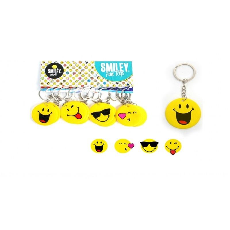 Smileyworld Smiley an Schlüsselanhänger