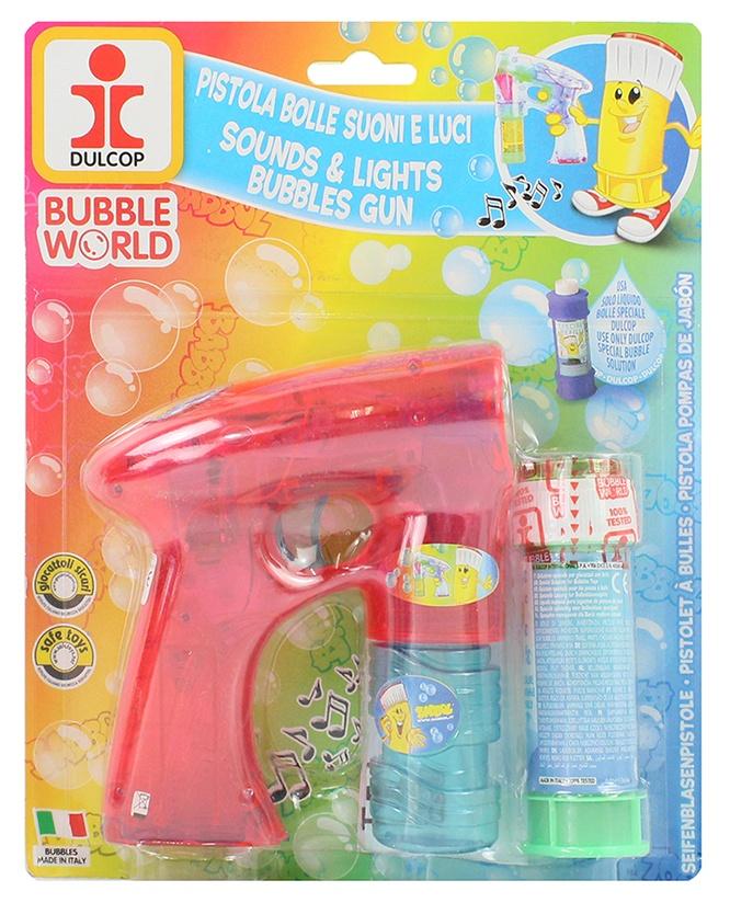 Seifenblasenpistole mit Sound und Licht v Dulcop