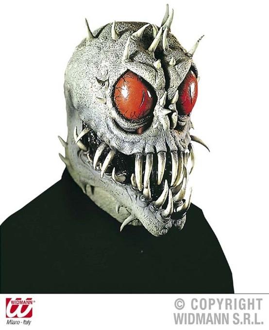 Maske ,Space Beast, Latex