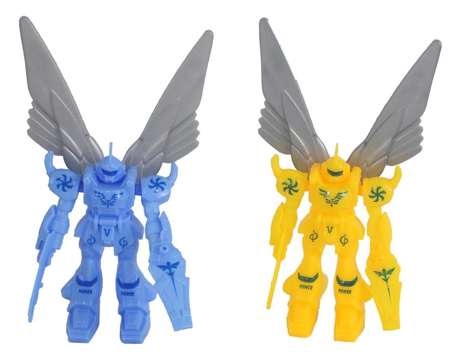 Roboter mit Flügeln 2-farbig sortiert - ca 12cm