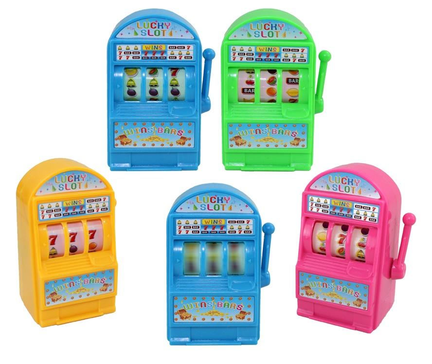 Spielautomat 4-fach sortiert ca 8x4,5x4cm