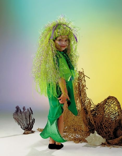 Kleine Meerjungfrau Kleid Größe 116/128