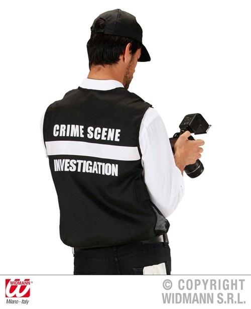 Kostüm - FBI Tatortermittler Größe M/L