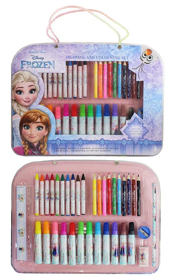 Schreib- und Malset Frozen ca 33x24,5x2cm