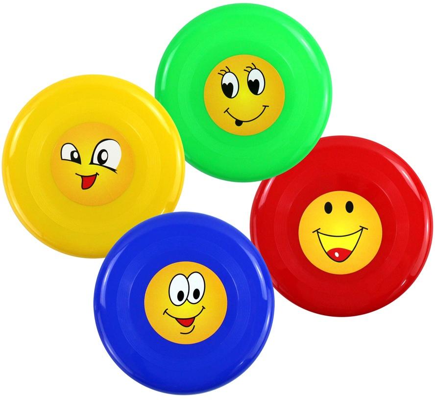 Frisbeescheiben -  farblich sortiert - ca 23cm