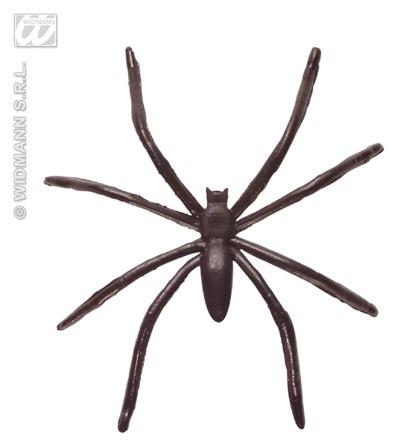 Spinne - schwarze Kunststoffspinne ca 50mm