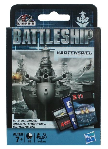 Hasbro Battleship Kartenspiel in Schachtel ca 14,5x9,5x2cm
