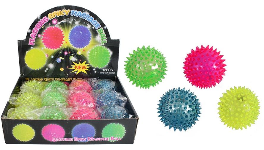 Noppenball leuchtend ca 7,5 cm Ø