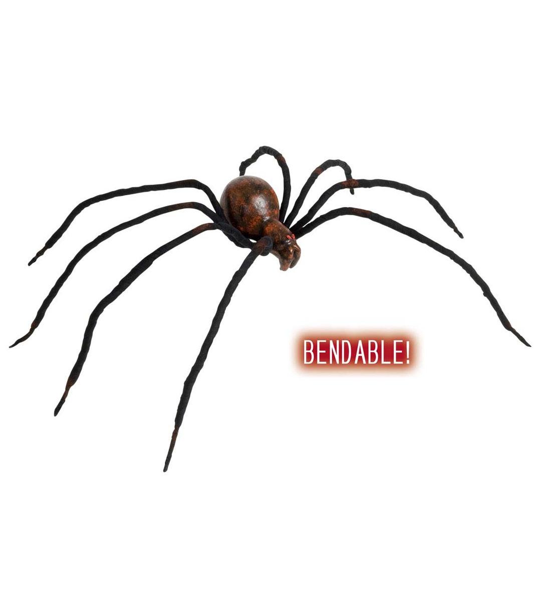 Spinne blutig biegsam ca 60cm