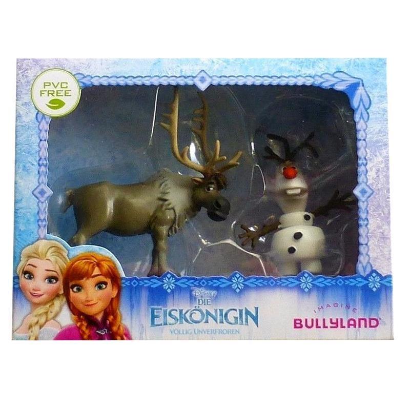 DISNEY Bullyland Die Eiskönigin Spielfiguren Sven und Olaf