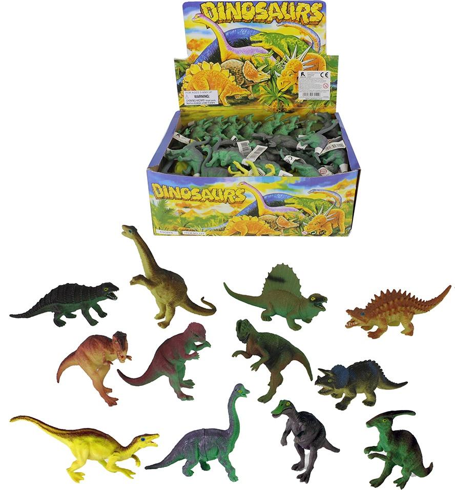 Dinosaurier 12-fach sortiert - ca 13 cm