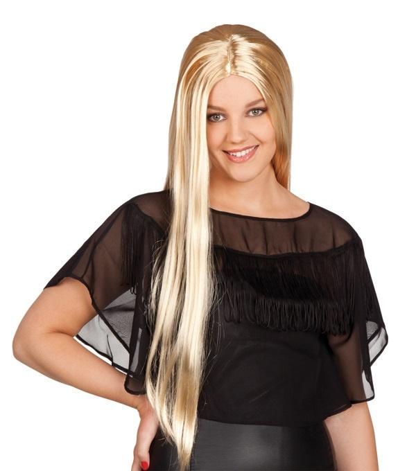 Perücke - Charming Langhaarfrisur blond