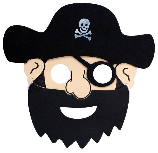 Maske Pirat für Kinder