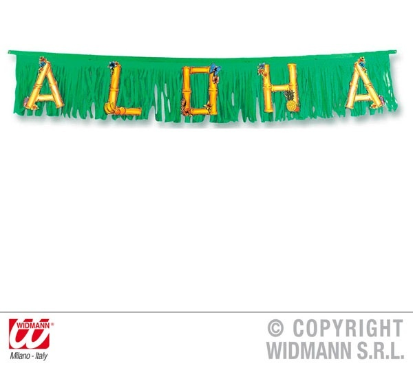 Girlande ,Aloha, ca 150 cm