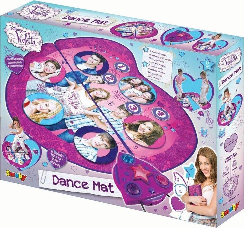 DisneySmoby Violetta Tanzmatte in Box ca 47x36x6,5cm
