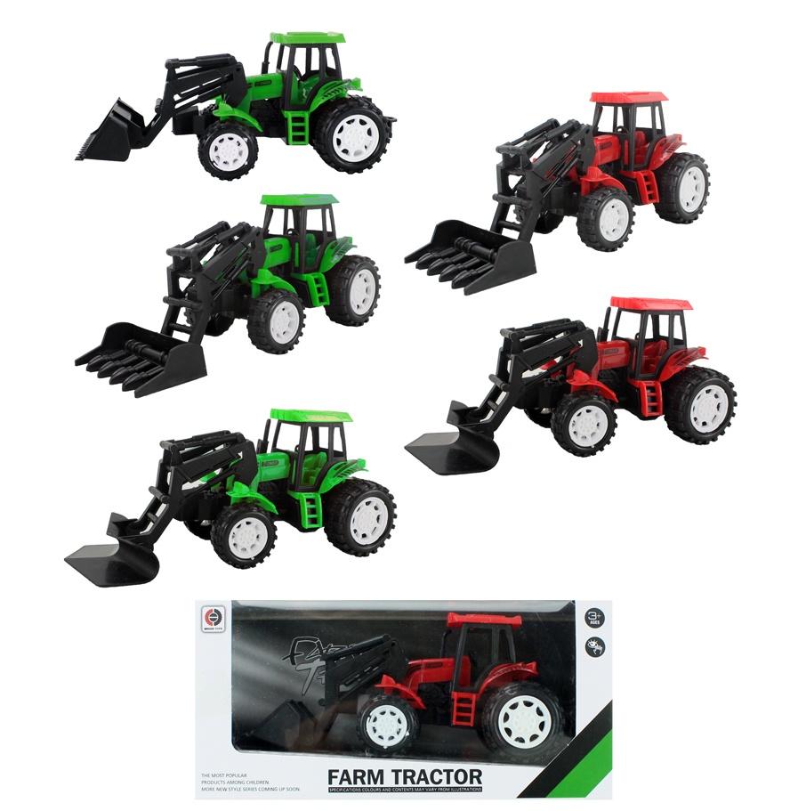 Traktor 6-fach sortiert ca 18 cm