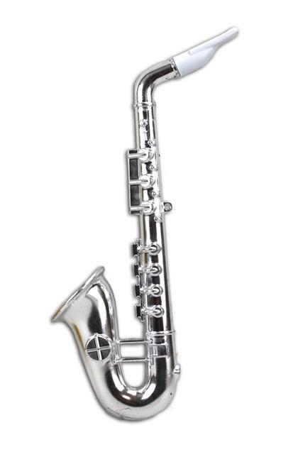 Saxophon gold und silber sortiert - ca 35cm