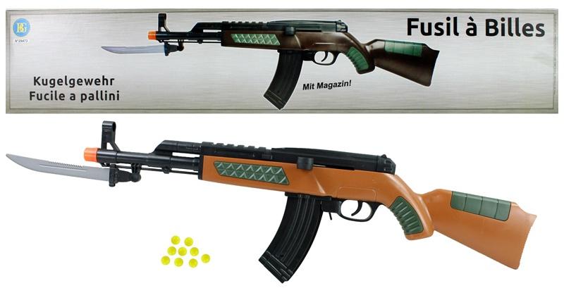 Kugelgewehr mit Magazin - ca 55cm