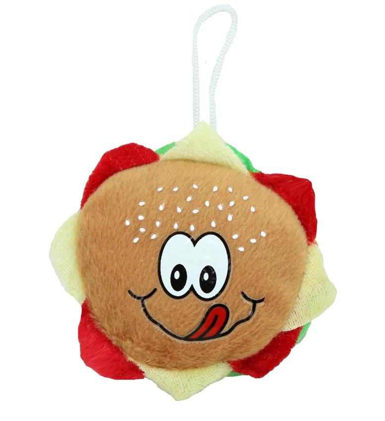 Hamburger aus Plüsch ca 8cm