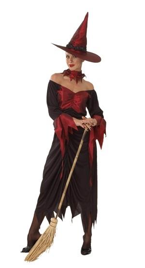 Kostüm - Luxus Hexe
