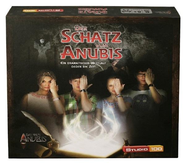 Haus Anubis Der Schatz von Anubis Brettspiel von Studio 100