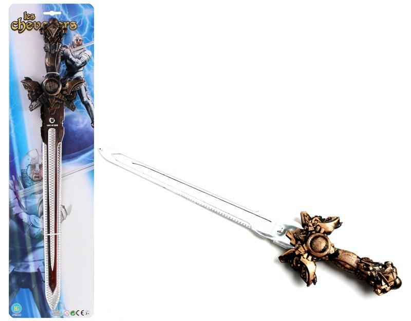 Schwert  Griff bronzefarben ca 57 cm