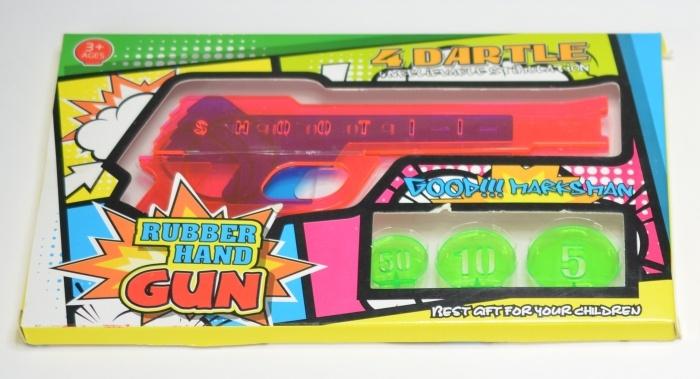 Pistole mit Gummiband Gummibandschiesser