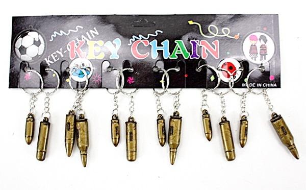 Patrone an Schlüsselanhänger  mehrfach sortiert - ca 3-5cm