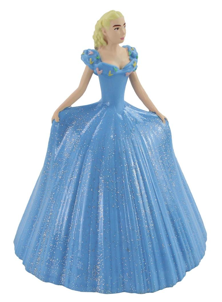 DISNEY Bullyland Cinderella mit blauem Kleid - ca 12cm