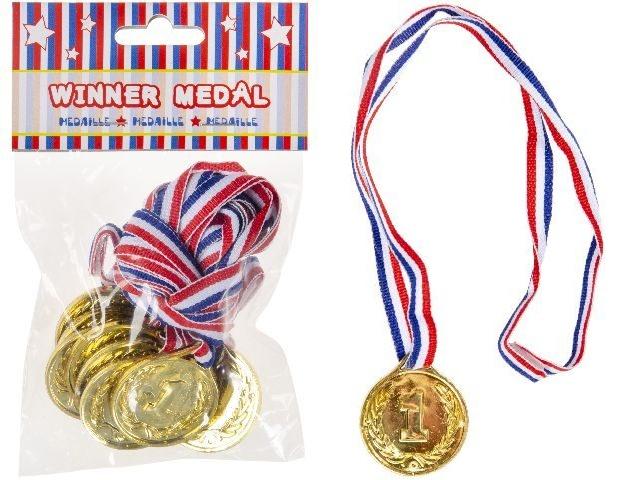 Medaille Winner Sieger ca 3,5cm
