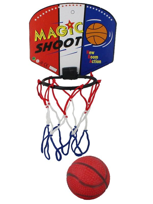 Basketball mit Fangkorb 3-fach sortiert  ca 13,5x11,5x5,5cm