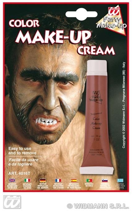 Make-up in Tube braun 28ml auf Karte ca 19,5x13cm