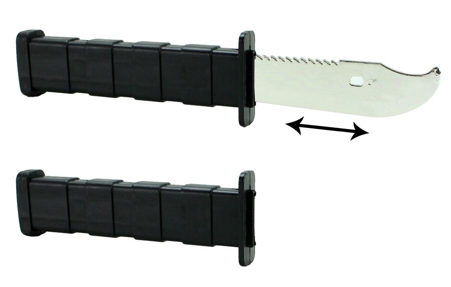 Trickdoch Trickmesser magische Klinge - ca 26cm