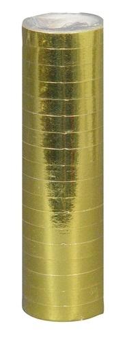 Luftschlangen gold - ca 4 Meter