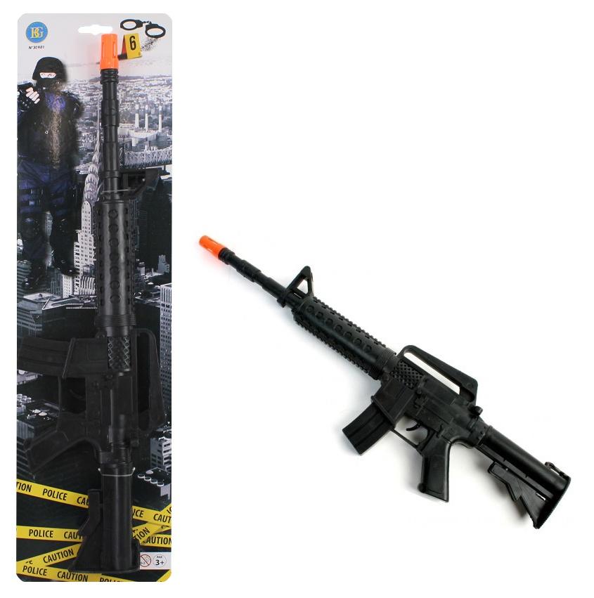 Rattergewehr mit Sound ca 46cm