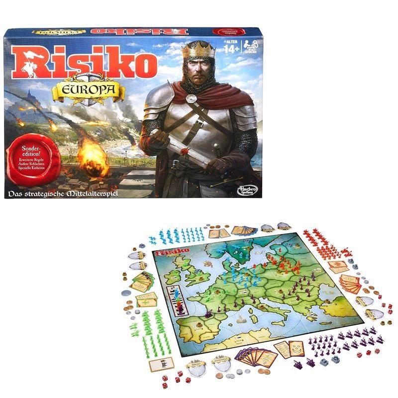 Hasbro Spiel Risiko Europa in Box ca 40x26,5x6,5cm