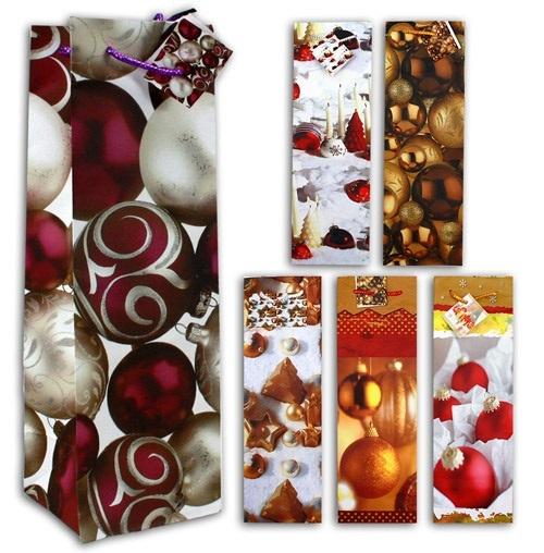 Weihnachtstüten - Flaschentüten groß - ca 34 x 11 x 10 cm