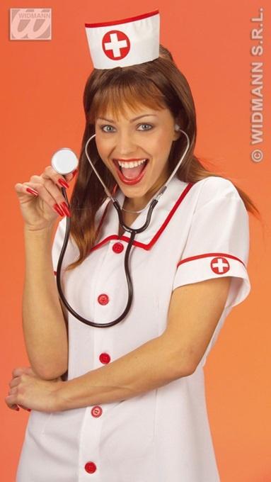 Hut - Krankenschwester-Häubchen Einheitsgröße