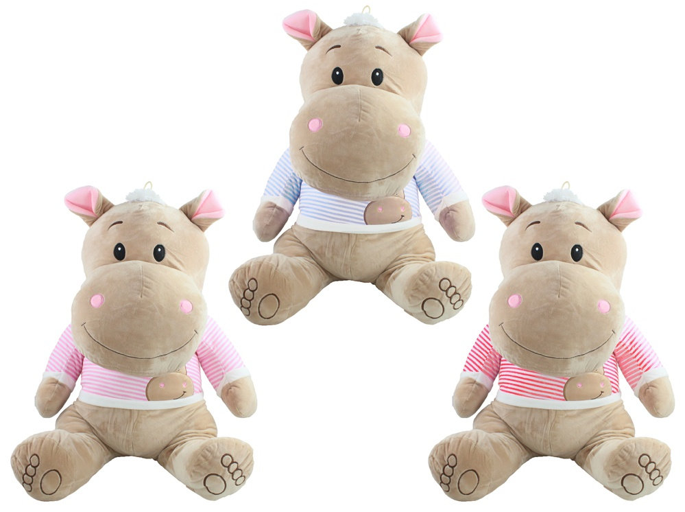 Nilpferd Funny Hippo ca 60cm