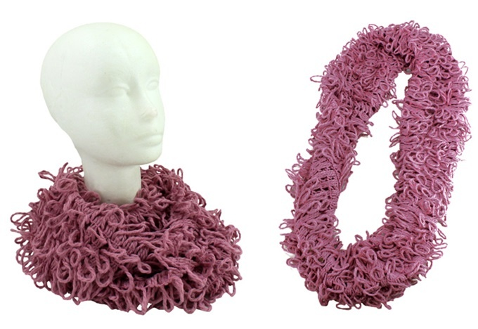 Schlauchschal  LOOP  rosa - Umfang ca 160 cm