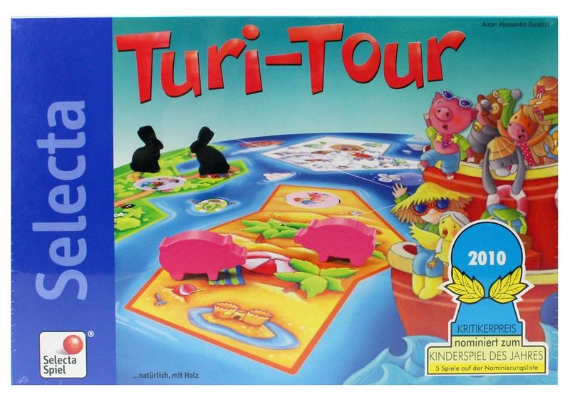 Selecta Turi Tour Spiel in Box ca  ca 34x23x4,5cm